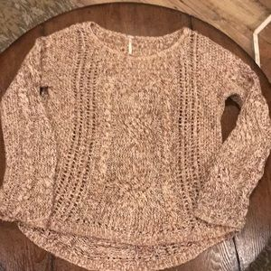 Free people sweater M